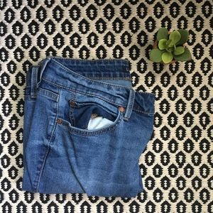 Anthropologie Level 99 Distressed Skinny Jeans